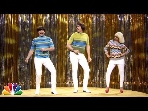 """Tight Pants"" with Jimmy Fallon, Will Ferrell & Christina Aguilera"