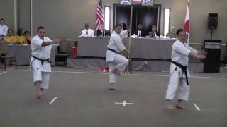 Jitte Bo Bunkai-Oyo Demonstration (Fairfax Shotokan Karate Club) - Part 1 of 2