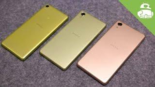 عائلة «إكسبيريا إكس».. 3 هواتف جديدة من سوني «للجميع»