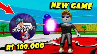100.000 Robux For A Gamepass In *NEW* Game SPEED SIMULATOR X! [Roblox]