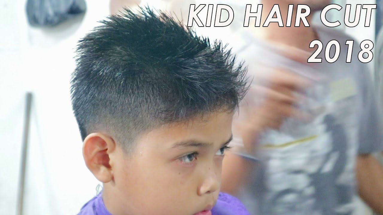 Model Rambut Pria Anak