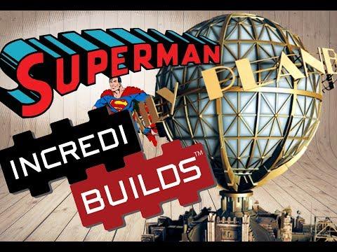 SUPERMAN - MAQUETTE 3D DU DAILY PLANET - INCREDI BUILDS