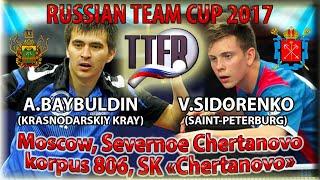 Заключитальная командная игра на Кубке России Байбулдин - Сидоренко