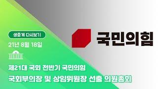 [국회방송 생중계] 국민의힘 국회부의장 및 상임위원장 …