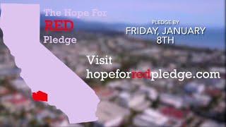 Santa Barbara teens take part in Hope for Red Pledge