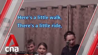 "UK family in lockdown does parody of Les Miserables' ""One Day More"""