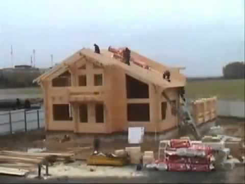 30 июл 2013. Видео. Процесс постройки дома из клееного бруса http://stroy-ka. Ru/ products/565. Htm большой выбор пиломатериалов стройдисконт.