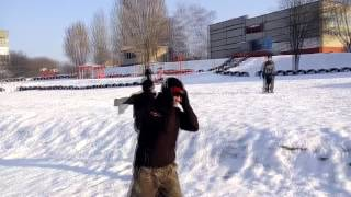 Видео №3 (Паркур,трюки,сальто)