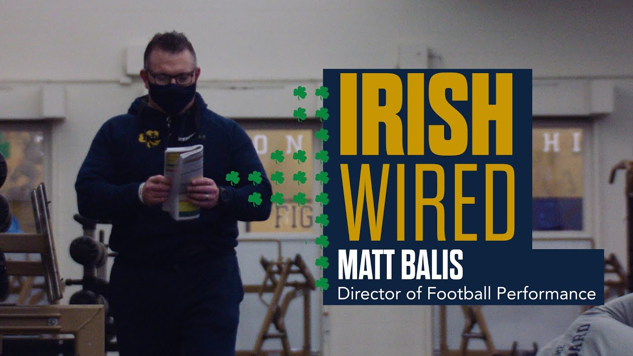 @NDFootball | Irish Wired: Matt Balis (2021)