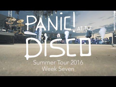 Panic! At The Disco - Summer Tour 2016 (Week 7 Recap)