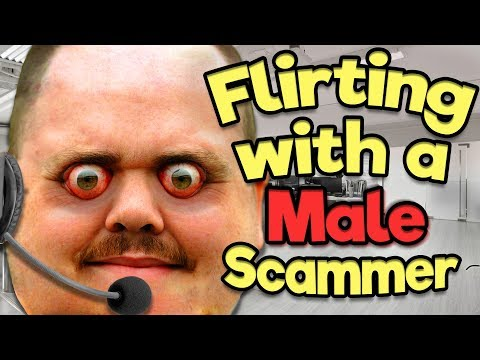 What Happens If You Flirt With A Male Scammer?!
