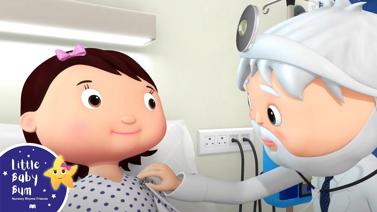 Staying In The Hospital Song | Best Baby Songs | Kids Cartoon | Nursery Rhymes | Little Baby Bum