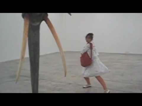 Expo Daniel Firman impro Judith Kazmierczak, 2008