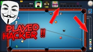8 BALL POOL HACKER THERES A HACKER RECORDED !!
