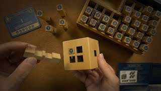 Wooden Puzzle Solving - The Sherlock #1 - ASMR