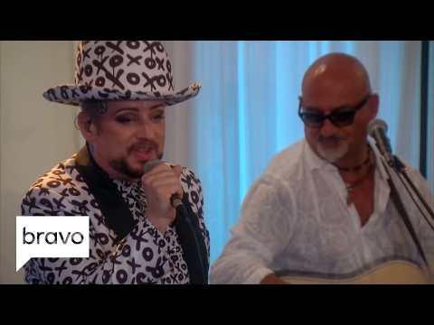 RHOBH: Boy George Performs for the Housewives (Season 7, Episode 8) | Bravo