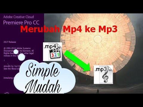 Cara Merubah Mp4 ke Mp3