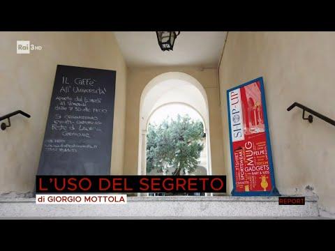 Download L'uso del segreto - Report 25/10/2021