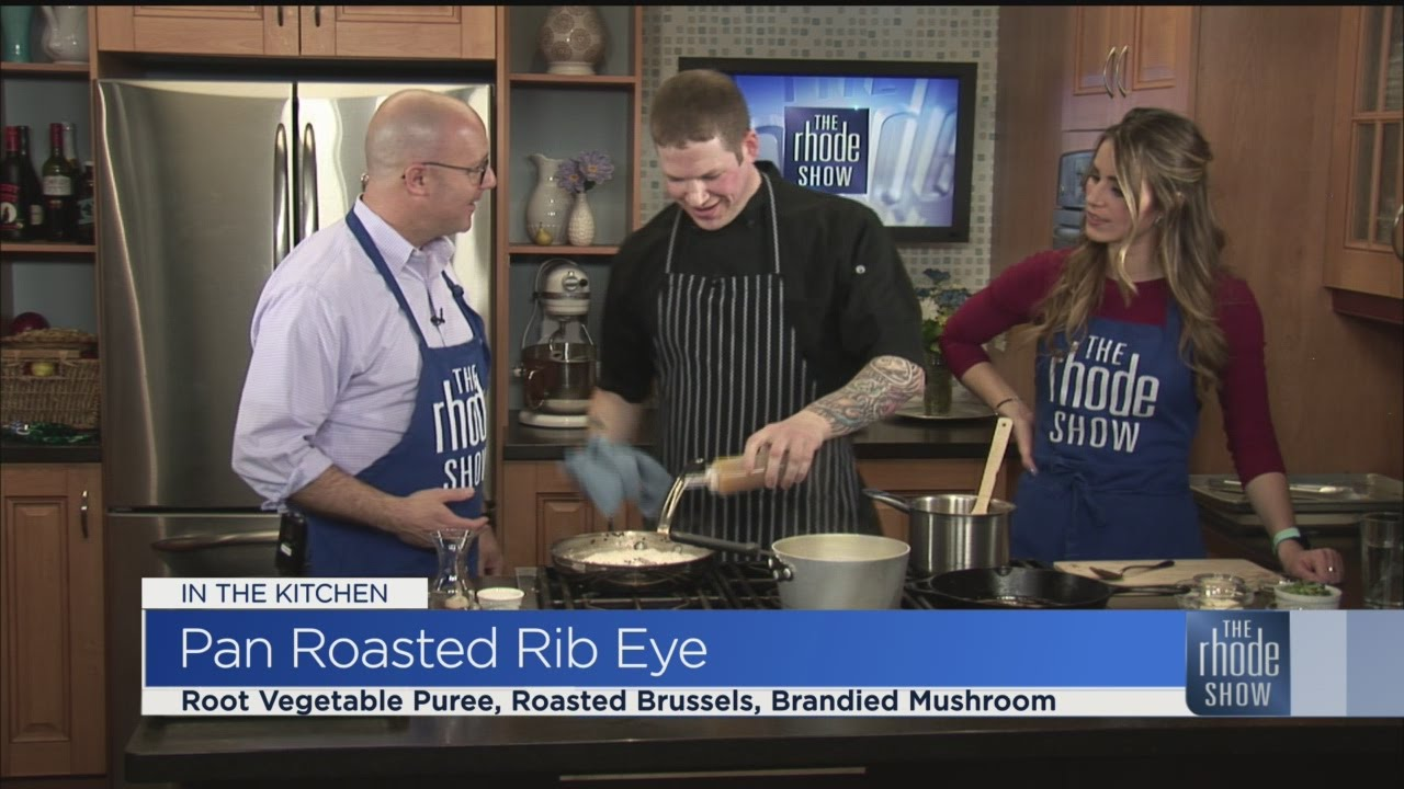 In the Kitchen: Pan Roasted Rib Eye - YouTube