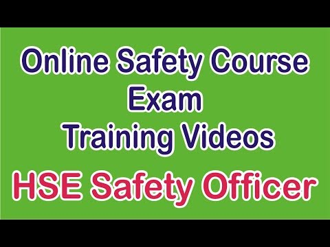 Health Safety officer course training in Hindi, India