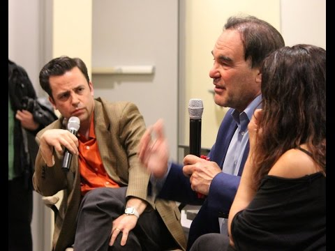 Q&A with Oliver Stone at SMC