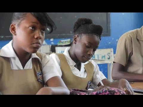 "Transzendentale Meditation an der ""Holy Trinity High School"", Jamaika"