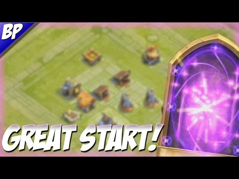 Castle Clash F2P Part 1 Awesome Start!