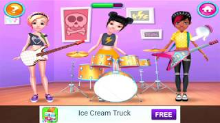 Kid Game: Pop Girls - High School Band for Baby