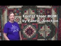 Timeless Treasures Forest Floor Block of the Month