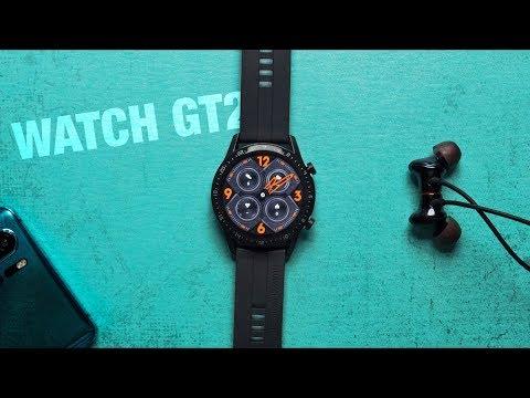Обзор умных часов Huawei Watch GT2: 2 недели на одном заряде!