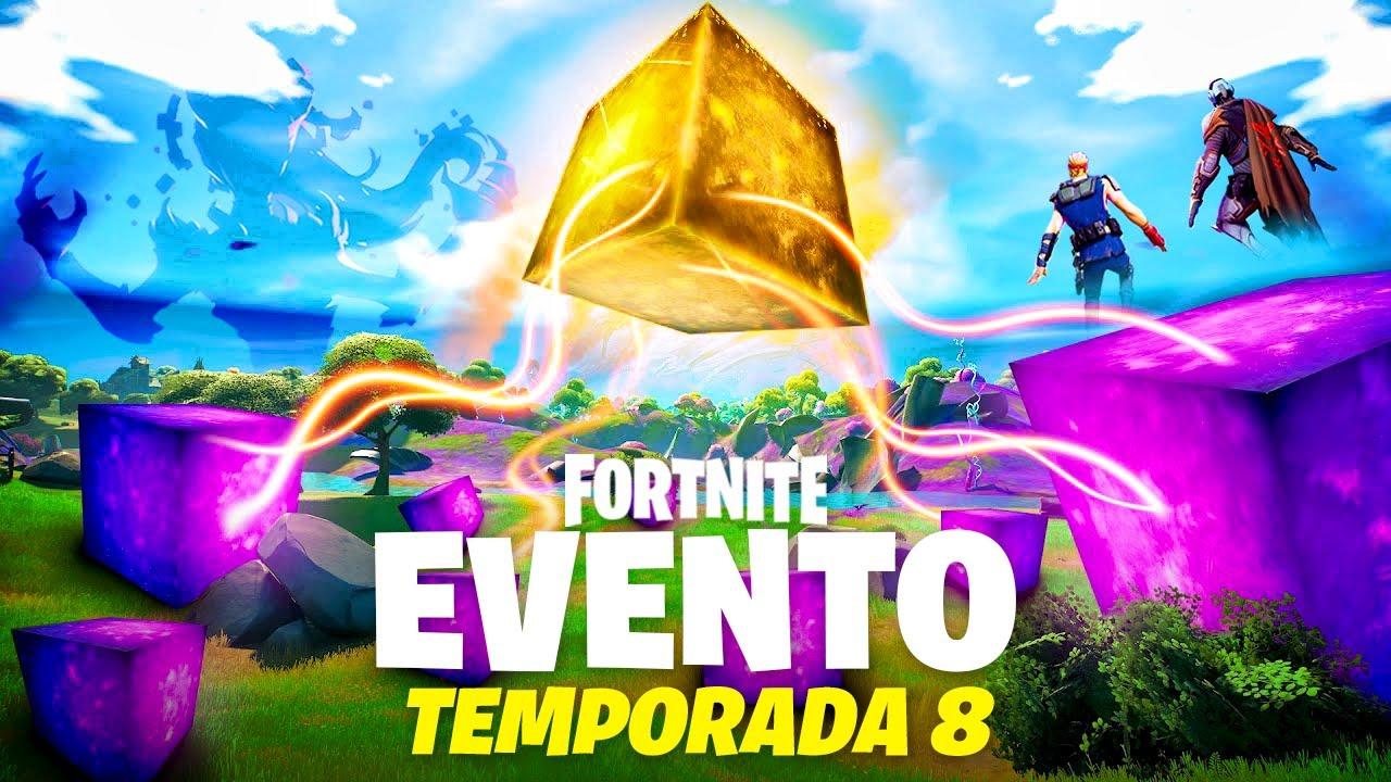 Download El DESPERTAR del **CUBO DORADO** EVENTO FASE 2 AHORA en Fortnite TEMPORADA 8! *aun no ves todo...*