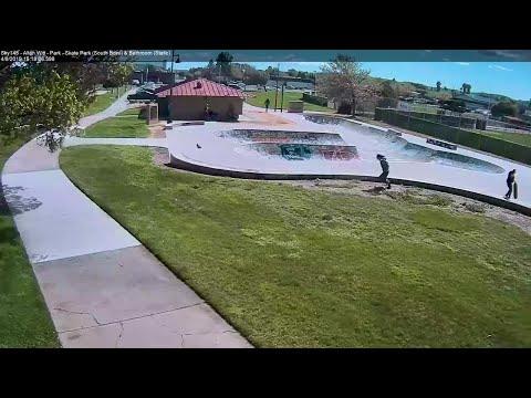 Caught On Camera: Dust Devil In Fairfield