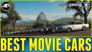 Forza Horizon 3 Online : Best Movie Cars!!! (Powered By @ElgatoGaming, Race 2)
