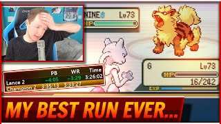 My Best Fire Red Elite 4 Round 2 Speedrun Ever...