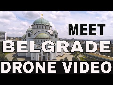 Visit Belgrade 📷 Belgrade from air - DRONE 📷  Belgrade Serbia 🏫 Beograd iz vazduha 📹