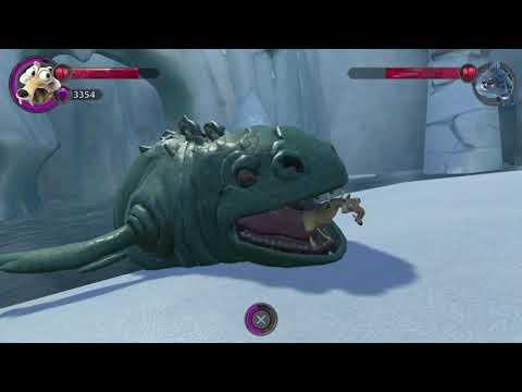 Ice Age Scrat's Nutty Adventure - Crocodiles Boss Fight