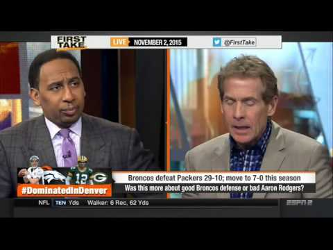 Espn First Take  - 11/2/2015 - Broncos win battle of unbeaten teams over Packers, 29-10