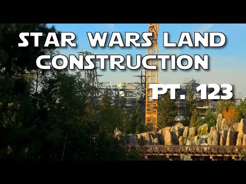 New Format! - Star Wars Land Construction - Pt. 123 | 12-01-2017