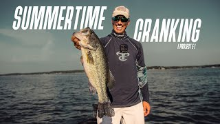 SUMMERTIME CRANKIN! // Project E // How to catch fish on a CRANKBAIT using your ELECTRONICS!