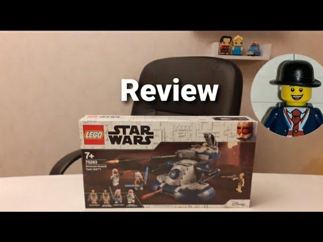 Review Lego Star Wars Armored Assault Tank (AAT) (Art. 75283)