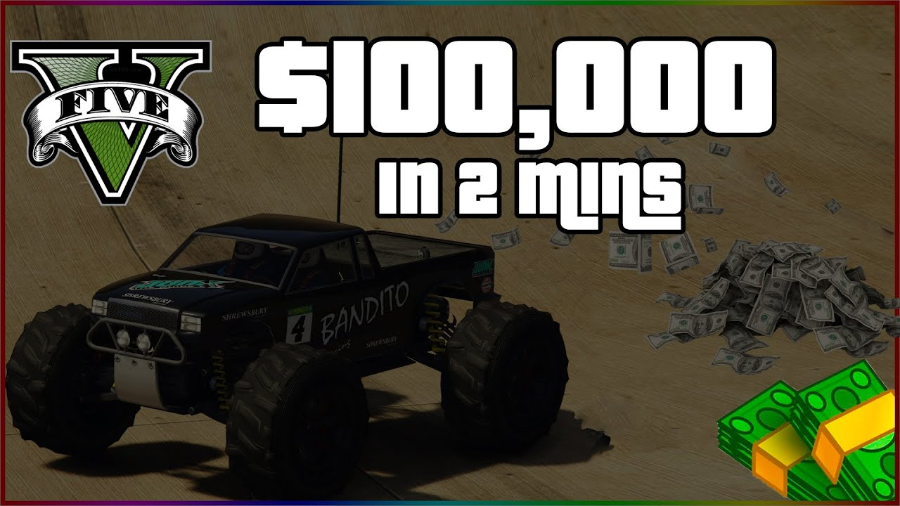 GTA V Weekly Time Trial! Make $100,000 In 2 Minutes Easy!
