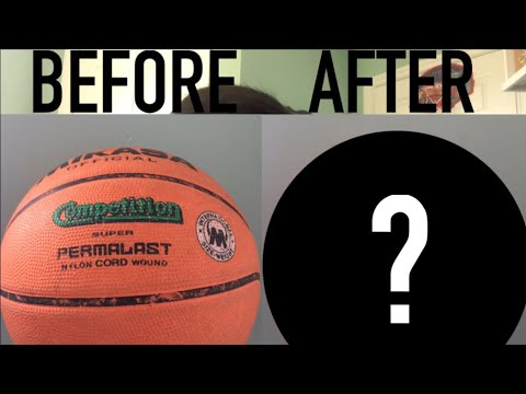 Cleaning My Basketball 🏀