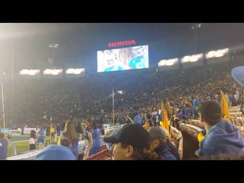 UCLA FOOTBALL ENTRANCE VS CAL #BRUINREVOLUTION