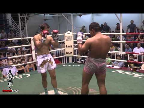 Mauricio Calvo Siles fighting at Bangla July 13th 2011