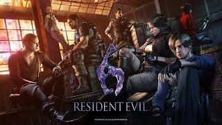 Resident Evil 6 (PS4) Agent Hunt - Chris Campaign (Chapter 5)
