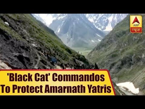 EXCLUSIVE: 'Black Cat' Commandos To Protect Amarnath Yatris | ABP News