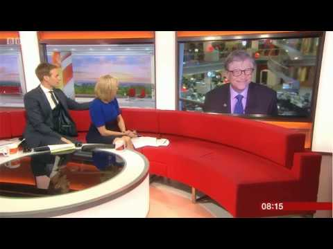 Bill Gates on Malaria Research BBC Breakfast Interview 18/4/18