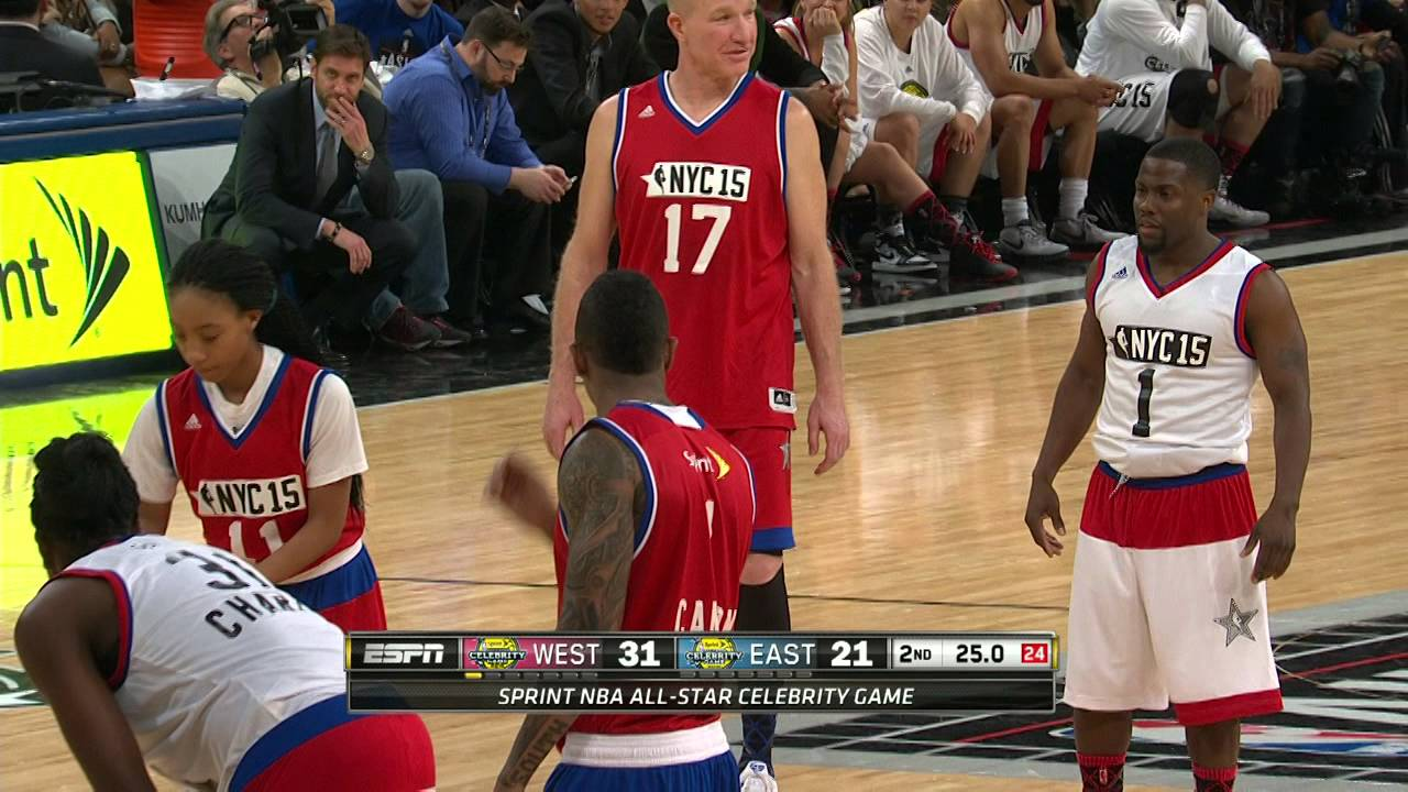 Sprint Celebrity NBA All-Star Game - J.Cole - YouTube