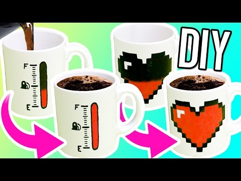 Diy Color Changing Mugs! Make Magic Mugs For Gifts