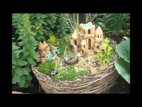 Миниатюрный сад в горшке и на участке